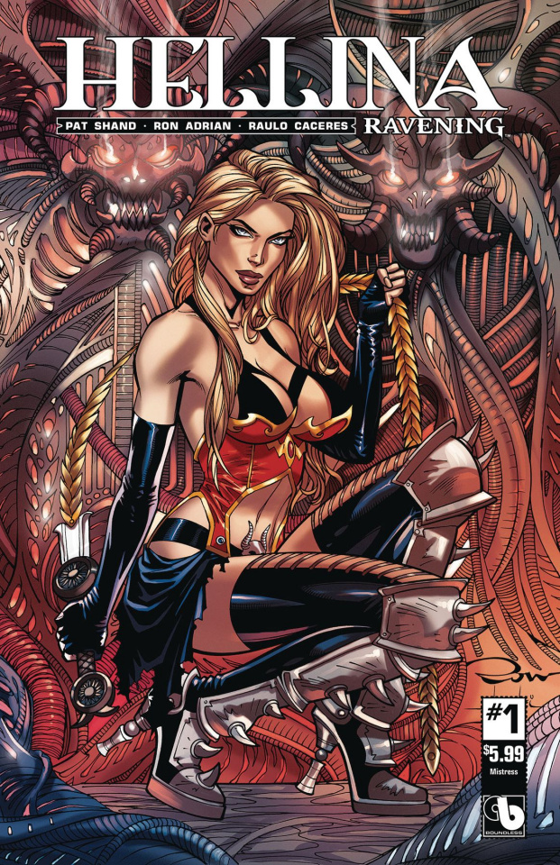 Hellina: Ravening #1 (Mistress Cover)