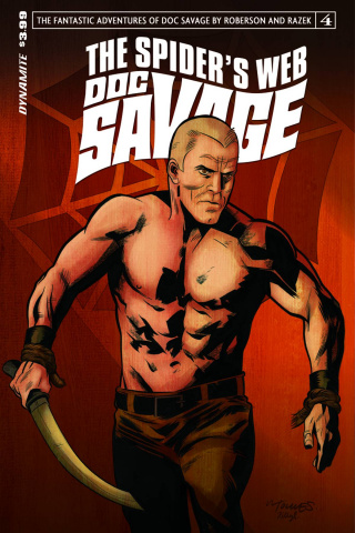 Doc Savage: The Spider's Web #4 (Torres Cover)