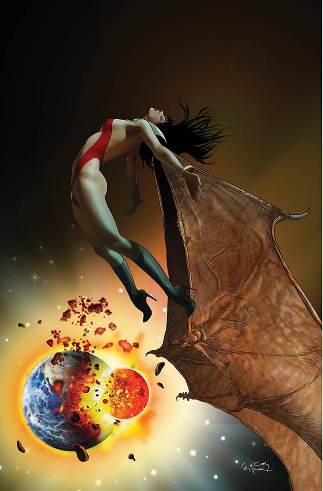 Vampirella #19 (30 Copy Gunduz Virgin Cover)