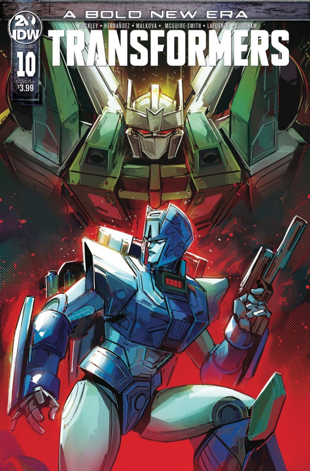The Transformers #10 (Deer Cover)