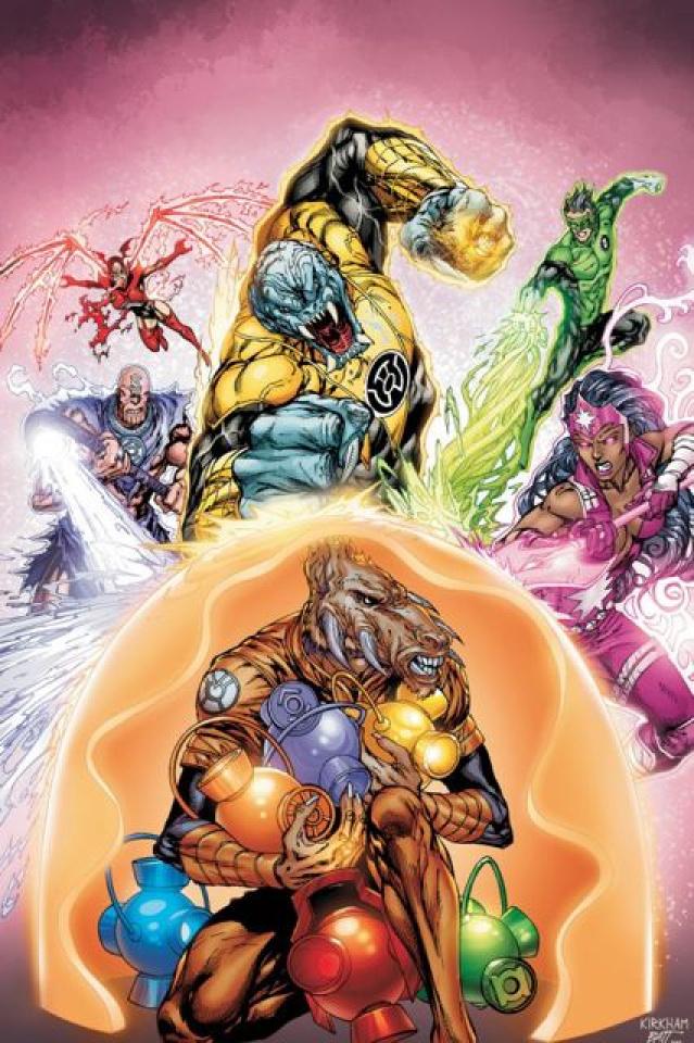 Green Lantern: New Guardians #4