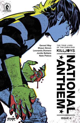 The True Lives of the Fabulous Killjoys: National Anthem #4 (Romero Cover)