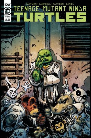 Teenage Mutant Ninja Turtles #106 (Eastman Cover)