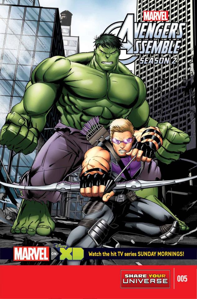 Avengers Assemble, Season Two #5