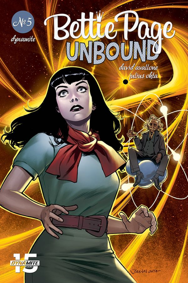 Bettie Page: Unbound #5 (Ohta Cover)