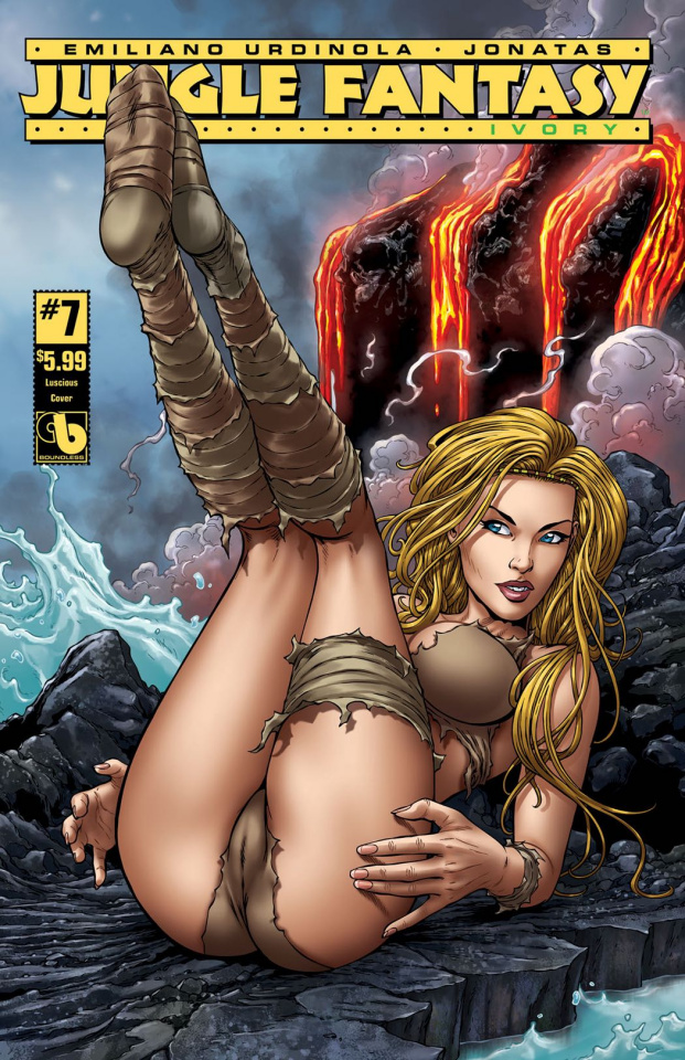 Jungle Fantasy: Ivory #7 (Luscious Cover)