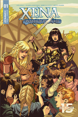 Xena: Warrior Princess #1 (Lupacchino Cover)