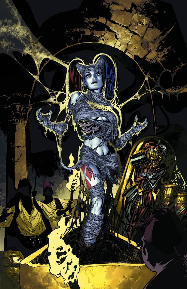 Harley Quinn #21 (Monsters Cover)