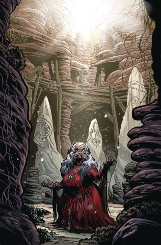 Beneath the Dark Crystal #8 (Dewey Cover)