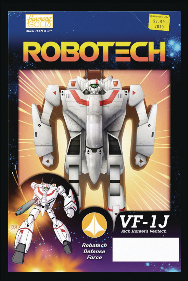 Robotech #24 (Vehicle Action Figure Cover)