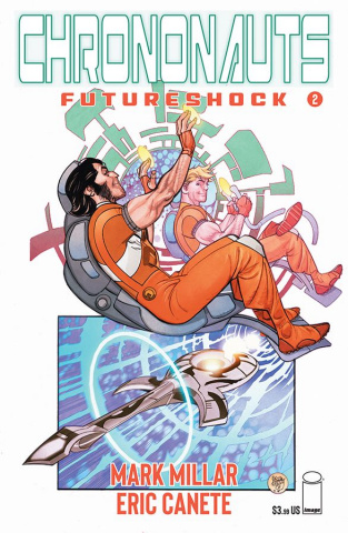 Chrononauts: Futureshock #2 (Ferry Cover)