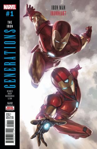 Generations: Iron Man & Ironheart #1 (2nd Printing Skan Cover)