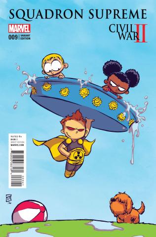 Squadron Supreme #9 (Young Cover)