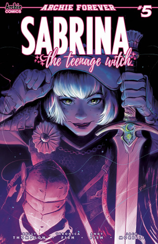 Sabrina, The Teenage Witch #5 (Fish Cover)