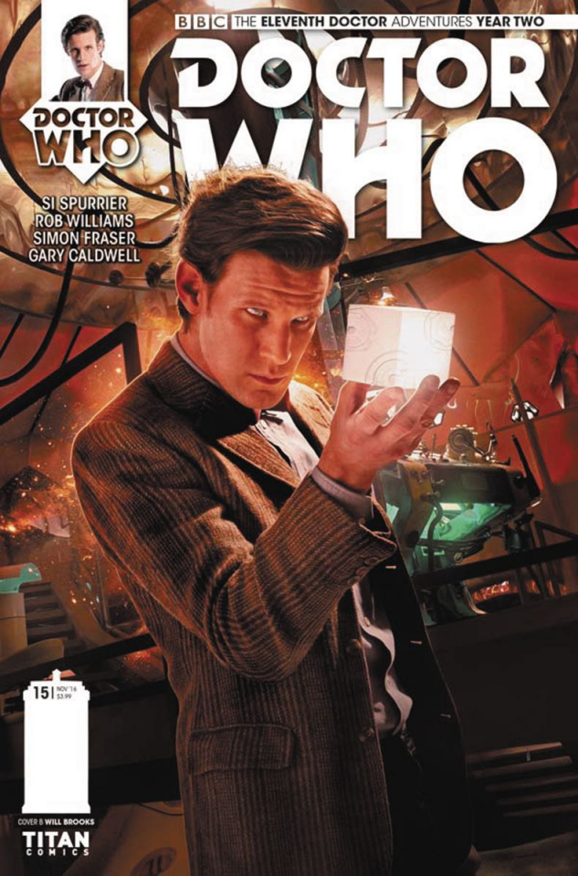 Doctor Who: New Adventures with the Eleventh Doctor, Year Two #15 (Photo Cover)