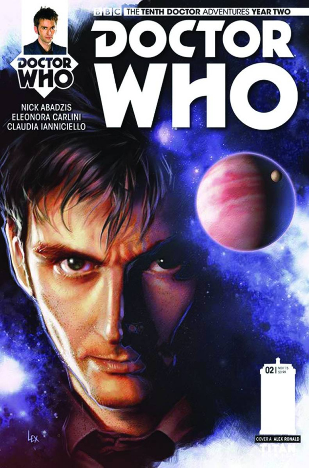Doctor Who: New Adventures with the Tenth Doctor, Year Two #2 (Ronald Cover)
