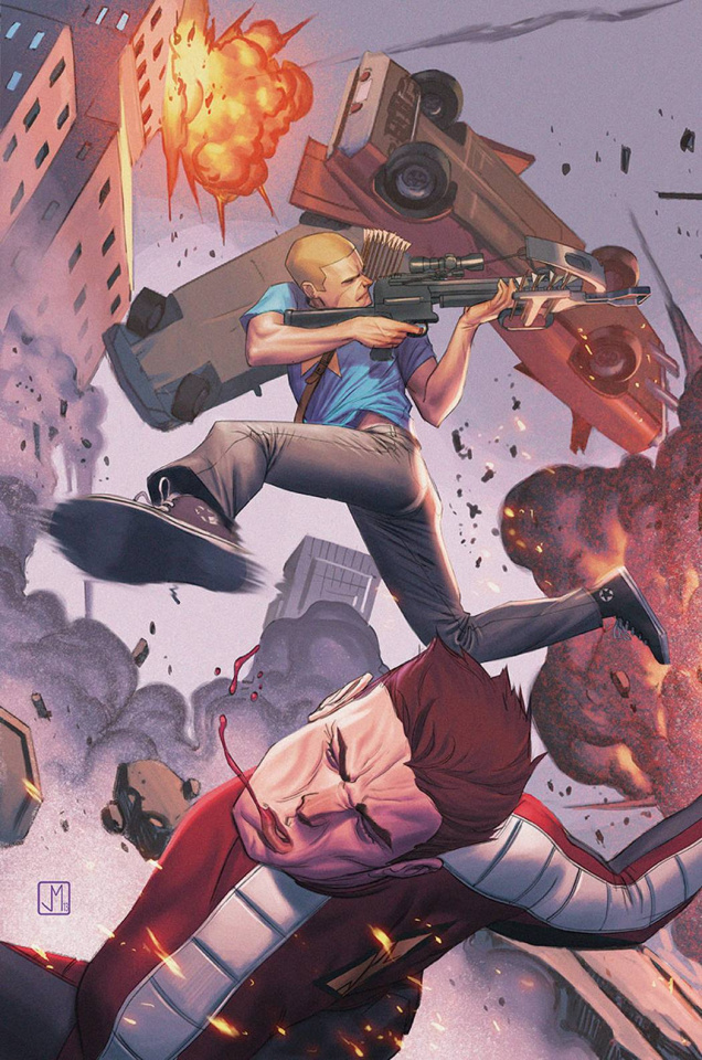 Archer & Armstrong #18 (Molina Cover)