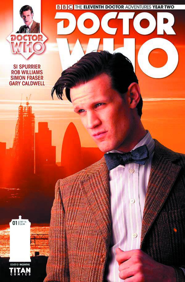 Doctor Who: New Adventures with the Eleventh Doctor, Year Two #2 (Subscription Cover)
