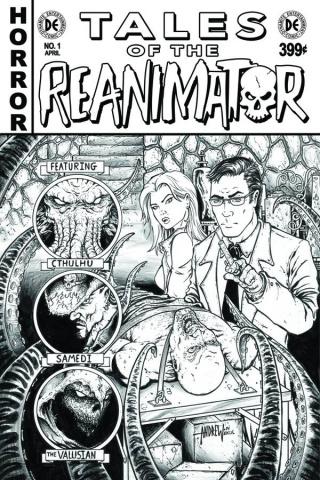 Reanimator #1 (15 Copy Mangum B&W Cover)