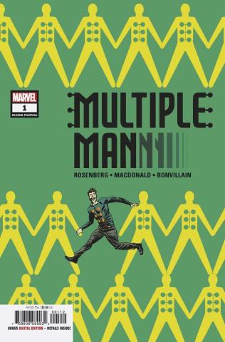 Multiple Man #1 (Martin 2nd Printing)