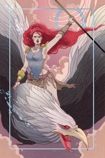 Red Sonja #6 (Rare Sauvage Virgin Art Cover)