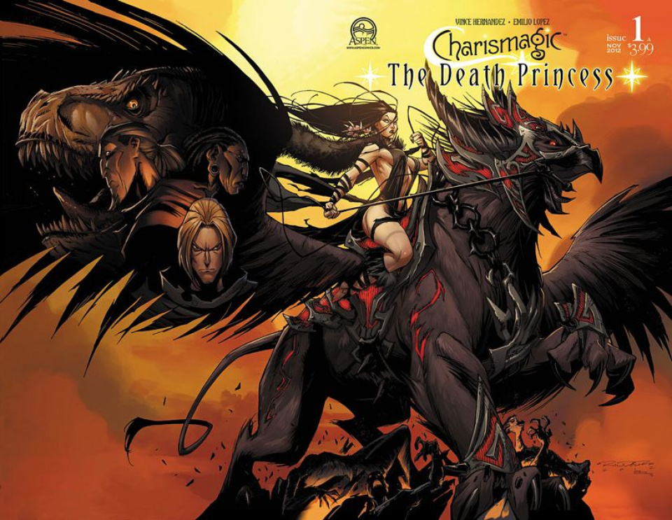 Charismagic: The Death Princess #1 (Randolph Cover)