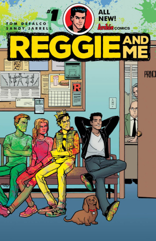 Reggie and Me #1 (Sandy Jarrell Cover)