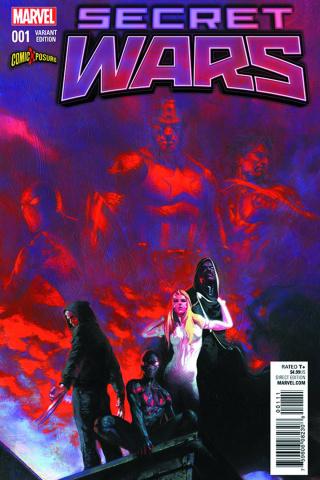 Secret Wars #1 (ComiXposure Cover)