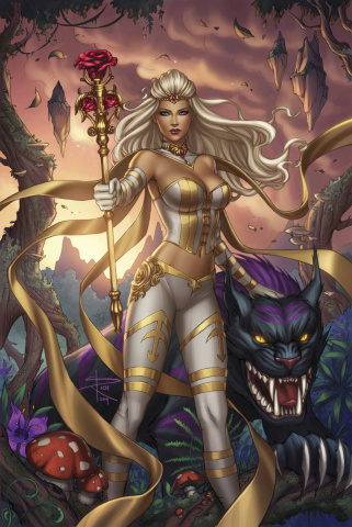Grimm Fairy Tales: The White Queen #2 (Rich Cover)