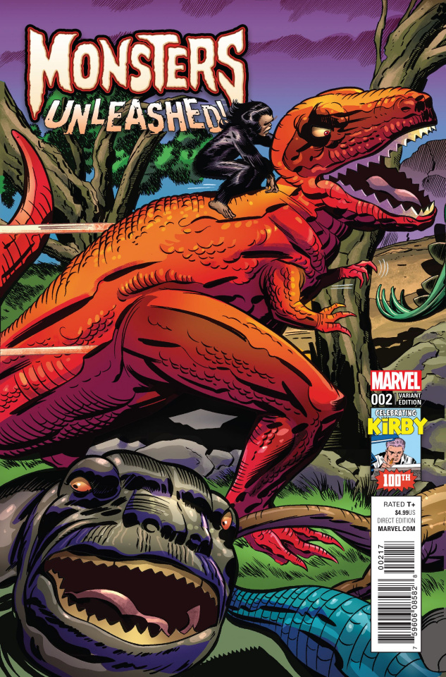 Monsters Unleashed! #2 (Kirby 100 Cover)