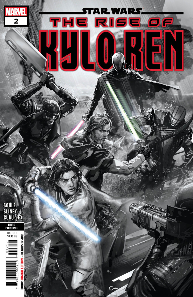 Star Wars: The Rise of Kylo Ren #2 (Crain 3rd Printing)