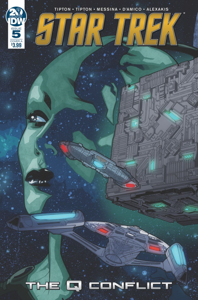 Star Trek: The Q Conflict #5 (Messina Cover)