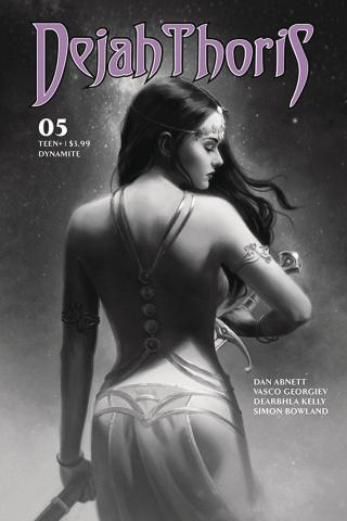 Dejah Thoris #5 (25 Copy Preissler Greyscale Cover)