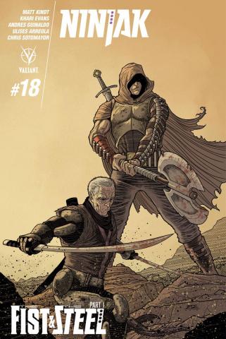 Ninjak #18 (Bodenheim Cover)