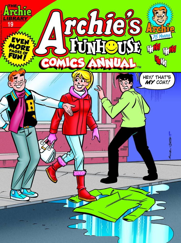 Archie's Funhouse Comics Annual Digest #19