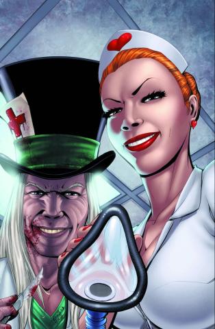 Grimm Fairy Tales: Wonderland - Asylum #1 (Eric J Cover)