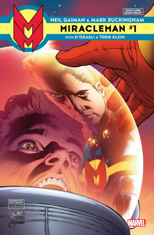Miracleman by Gaiman and Buckingham #1 (Quesada Cover)