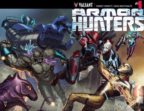 Armor Hunters #1 (2nd Printing)