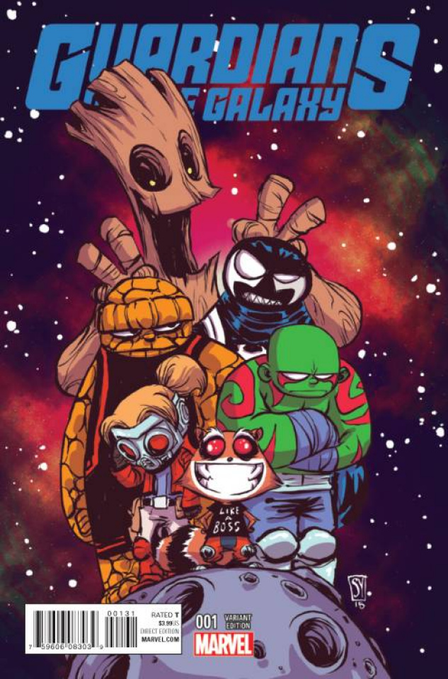 Guardians of the Galaxy #1 (Young Cover)