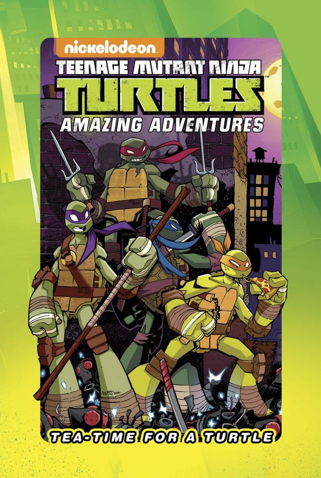 Teenage Mutant Ninja Turtles: Tea Time For A Turtle