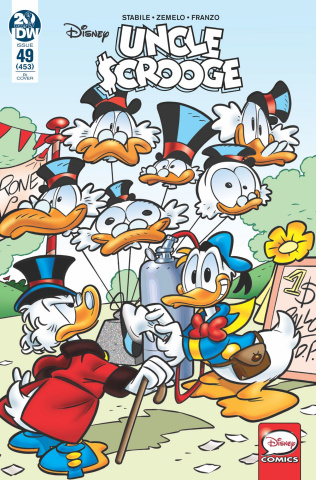 Uncle Scrooge #49 (10 Copy Intini Cover)