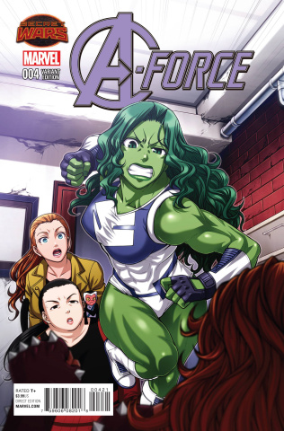 A-Force #4 (Toshirou Manga Cover)