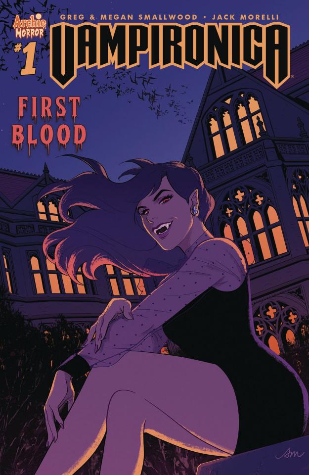 Vampironica #1 (Mok Cover)