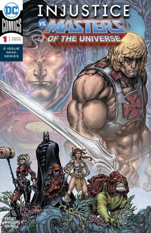 Injustice vs. He-Man and the Masters of the Universe #1