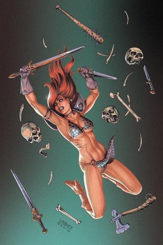 Red Sonja #10 (Linsner Virgin Cover)