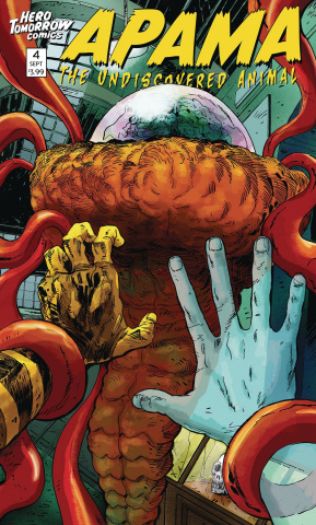 Apama: The Undiscovered Animal #4 (Harrison Variant Cover)
