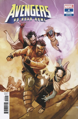 Avengers: No Road Home #4 (Noto Connecting Cover)