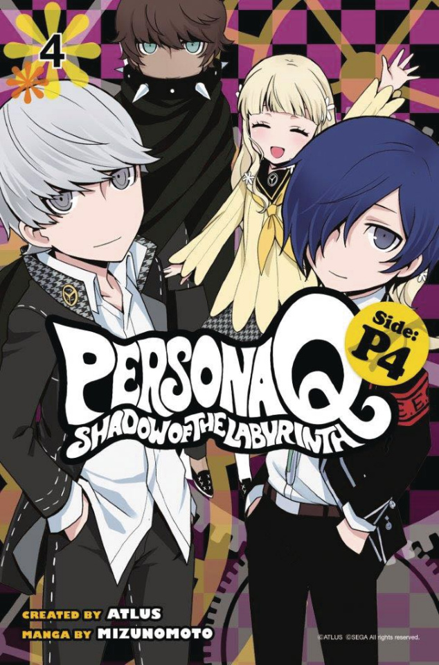 Persona Q: Shadow of the Labyrinth Vol. 4