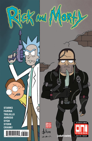 Rick and Morty #39 (Shum Cover)