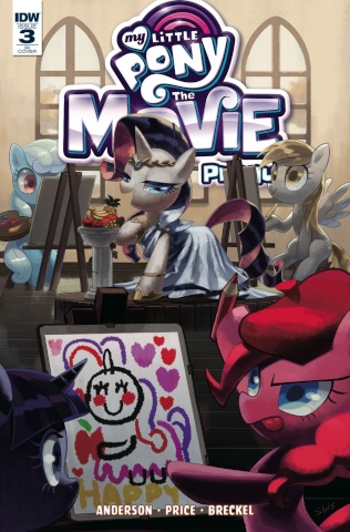 My Little Pony: The Movie Prequel #3 (10 Copy Cover)